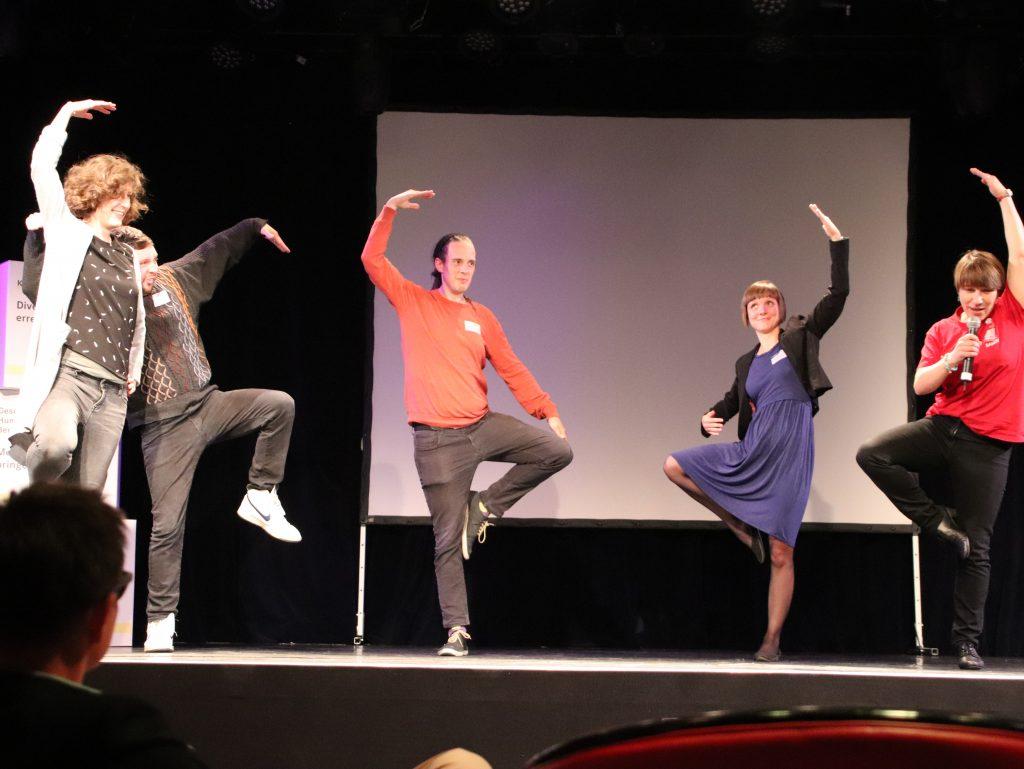 Abend-Lounge: Sandy Gärtner vom artist e.V. stellt das Magdeburger Projekt