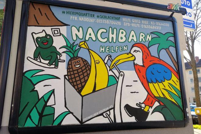 Kassel Plakataktion | © Sarah Metz und Janosch Feiertag