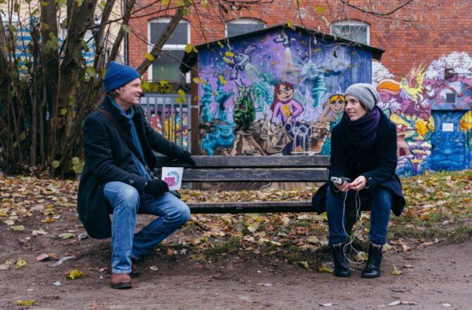Geschichtentausch: Stefan Graen und Laura Steiner
