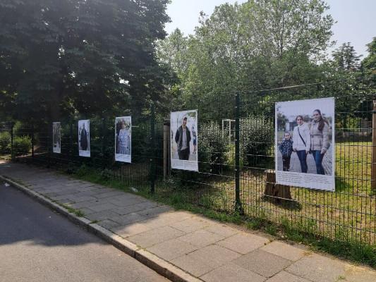 Fotoausstellung am Park © Europa Zentral