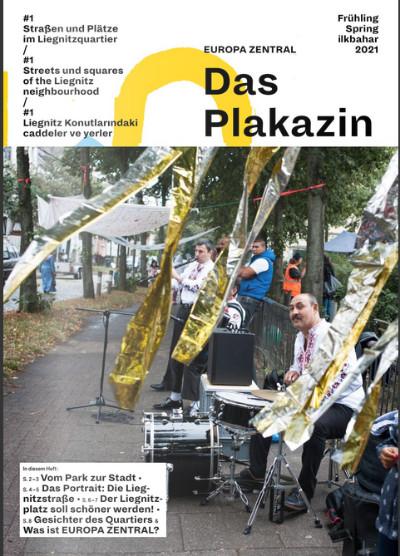 Erste Ausgabe des Plakazin