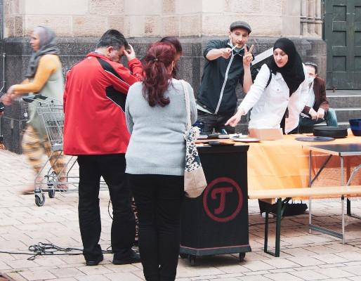 Musikprojekt auf öffentlichen Plätzen © kitev
