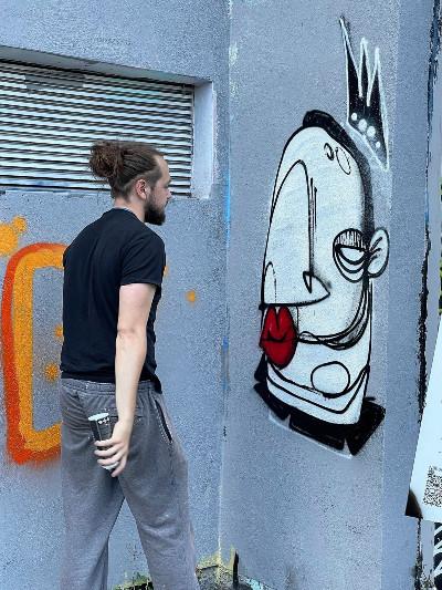 Jugendliche jeden Alters und jeder Herkunft konnten sich kreativ ausprobieren © Light up! Neunkirchen