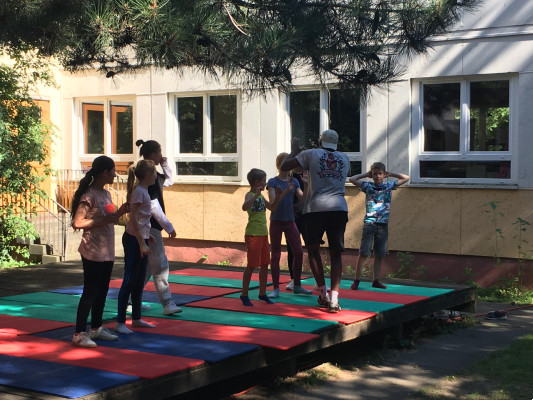Tanzwoche für Kinder © Plattenwechsel