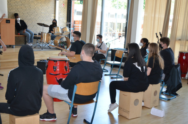 Musik-Workshop für Planet Billstedt © Billstedt United