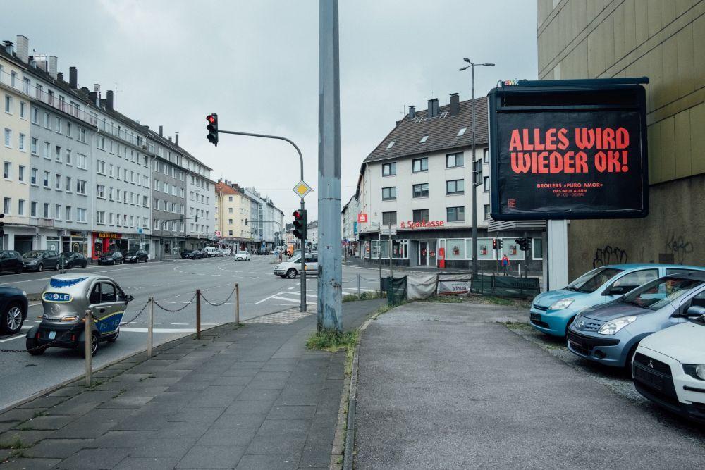 Leere Straßen im Lockdown © Philipp Czampiel